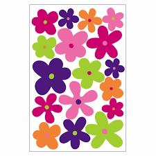 Crazy Daisies Flower Car Magnet Set