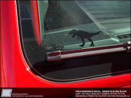 Jeep Wrangler Jl T Rex Windshield Decal Fits 2018 2019 Jurassic Pa Importequipment