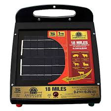 American Farmworks American Farmworks 18 Mile Solar Low Impedance Fence Charger Esp18m Afw At Tractor Supply Co