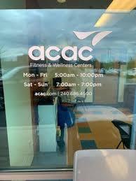 acac fitness wellness center 20500