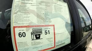How To Read A Car S Window Sticker Newsday