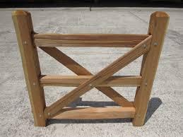 Split Rail Cedar Gates Capitol City Lumber
