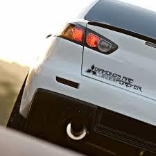 Buy Forever Diamonds Funny Kanji Katakana Logo Evo Lancer Racing Rising Sun Made In Japan Jdm Car Vinyl Sticker Decal