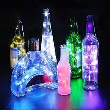 Nút Chai Hình Chai Rượu Đèn 1 M/2 M DIY LED Dây Đèn Có Nút Chặn Chai Trang  Trí Halloween kỳ Nghỉ Lễ Giáng Sinh Đảng 