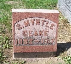 Sylvia Myrtle Collins Geake (1882-1917) - Find A Grave Memorial