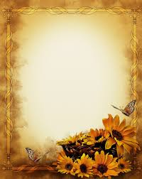 Background With Sunflowers Free Stock Photo Papel De Fundo