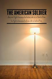 The American Soldier Any Room Vinyl Wall Decals Sticker Quotes On Etsy 9 00 Army Decor Military Decor Army Room