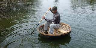 Coracle making weekend | Weald and Downland