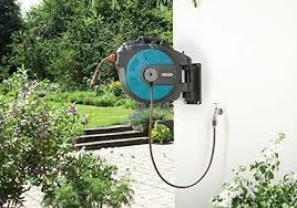 battery operated hose reel 115 feet
