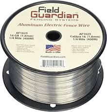 Amazon Com Field Guardian 12 1 2 Guage Aluminum Wire 1 Mile Pet Supplies