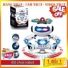 Đồ chơi Robot thông minh nhảy múa hát xoay 360 độ