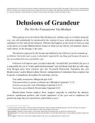 pdf hare krishna gurus delusions of grandeur willem vandenberg