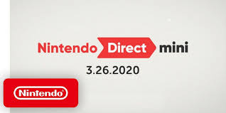 Nintendo Direct Mini (March 26, 2020 ...