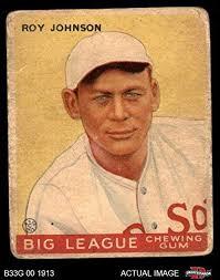 Amazon.com: 1933 Goudey # 8 Roy Johnson Boston Red Sox (Baseball ...