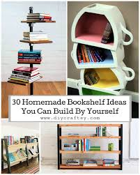30 homemade bookshelf ideas you can