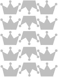 Amazon Com Brawljrorty Wall Stickers Decor Art Decorations 15pcs Removable Crown Shape Wall Art Sticker Bedroom Kids Room Decor Diy Decals For Home Living Room Bedroom Decor Silver Home Kitchen