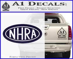 Nhra Oval Decal Sticker A1 Decals