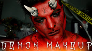 demon makeup tutorial 31
