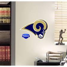 Nfl St Louis Rams Teammate Logo Wall Sticker Decal