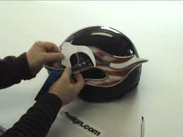 Helmet Graphic And Decal Installation Instructions Youtube