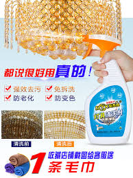 crystal lamp cleaning agent scratch
