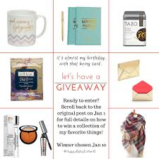a birthday countdown and gifts for