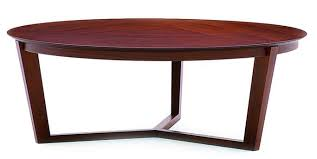 round coffee table solid beech frame