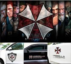 Cool Door Top Resident Evil Biohazard Umbrella Zombie Car Vinyl Stickers Decal Ebay