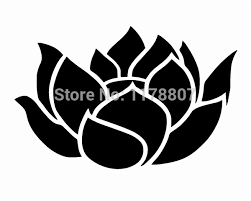 Lotus Flower Cute Girly Car Window Truck Suv Bumper Auto Door Die Cut Vinyl Decal Laptop Kayak Canoe Art Wall Sticker 10 Colors Sticker Vinyl Sticker Birddoor Glass Stickers Aliexpress
