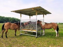 Hay Feeders Horse Shelters Shade Structures Klene Pipe