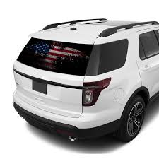 Perforated Decals Ford Explorer Decal 2011 Present