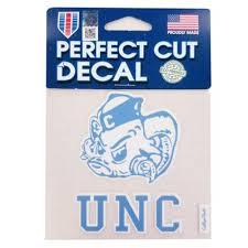 North Carolina Tar Heels Unc Automotive Decals Alumni Hall