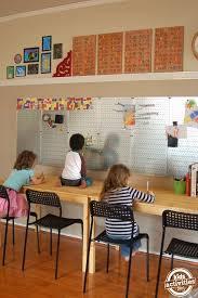 A School Room Built For Learning Homeschool Room Design Homeschool Rooms School Room