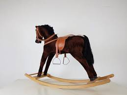 vintage rocking horse italy 1960s for
