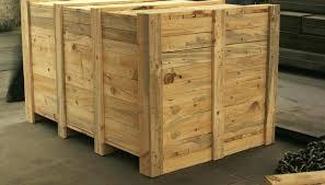 wooden crate case ideas for garden