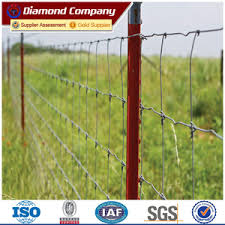 Diamond Studded T Post Fence Metal T Bar Fence Post Diamond Wire Netting Finished Products Company