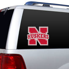 University Of Nebraska Cornhuskers Window Film Walmart Com