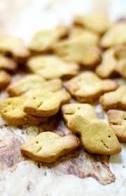homemade gluten free vegan goldfish