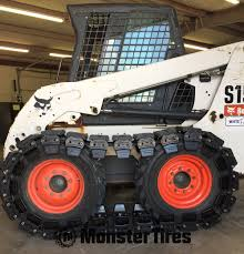 tire tracks for all skid steers