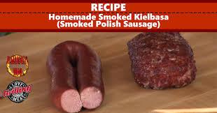 homemade smoked kielbasa recipe smoked