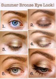 summer bronze eyeshadow tutorial