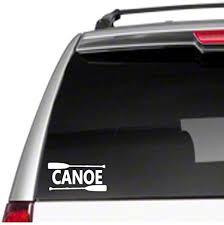 Amazon Com Canoe Car Vinyl Decal Sticker Love Paddle Kayak River Lake Float Oar Lifec9 Kitchen Dining