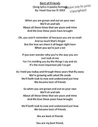 lyrics poems