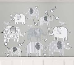 Branson Elephant Kids Wall Decal Pottery Barn Kids