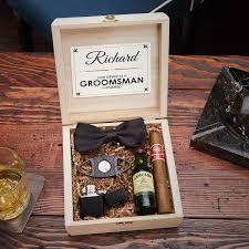 drake blackout cigar crate groomsmen