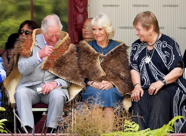 """Image result for 'The time feels right': Prince Charles welcomed to New Zealand's founding site of Waitangi"""""""