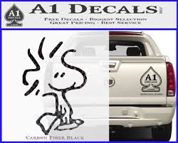 Snoopy Woodstock Decal Sticker A1 Decals