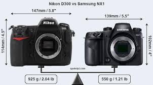 Nikon D300 vs Samsung NX1 Comparison Review