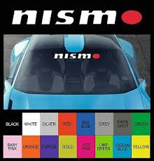 Any Bodywork Panel Nismo Large Car Logo 580mm Long Decal Sticker Archives Midweek Com