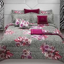 roberto cavalli bouquet leopard bed